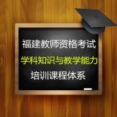2020年教师资格证考试《学科知识与教学能力》培训课程